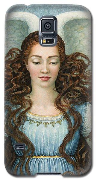 Angel In A Blue Dress Galaxy S5 Case