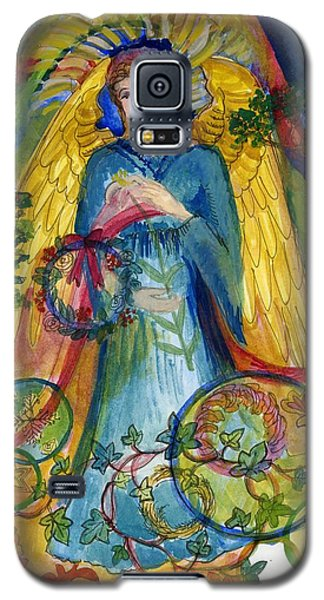 Angel In Blue Galaxy S5 Case
