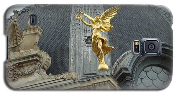 Galaxy S5 Case featuring the photograph Angel In Paris by Kay Gilley