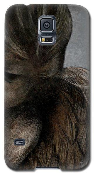 Angel In Pencil Galaxy S5 Case