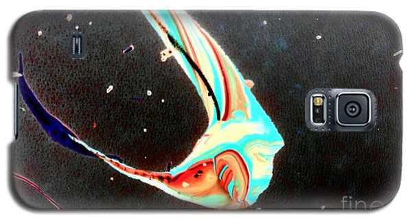 Galaxy S5 Case featuring the painting Angel by Jacqueline McReynolds