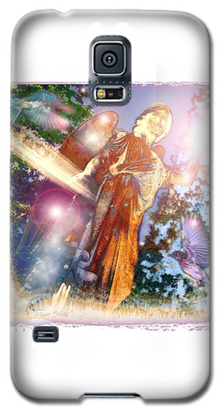 Galaxy S5 Case featuring the photograph Angel Light by Marie Hicks