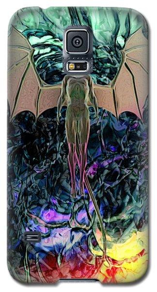 Galaxy S5 Case featuring the digital art Angel by Matt Lindley