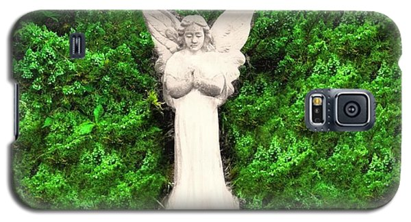 Galaxy S5 Case featuring the photograph Angel My Gaurdian by Becky Lupe