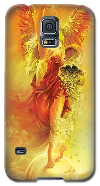Angel Of Abundance - Fortuna Galaxy S5 Case by Anna Ewa Miarczynska