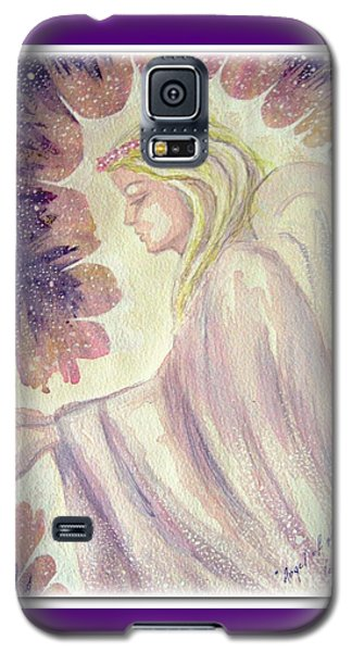 Galaxy S5 Case featuring the painting Angel Of Mercy by Leanne Seymour