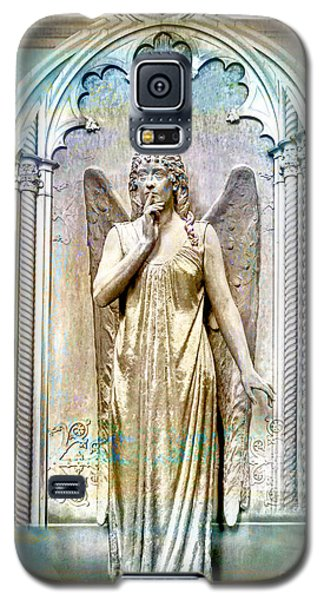 Angel Of Silence.genoa Galaxy S5 Case by Jennie Breeze
