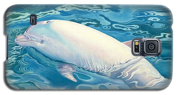 Whale Galaxy S5 Case - Angel Of Taiji by Catherine Garneau