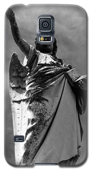 Galaxy S5 Case featuring the photograph Angel Of The Book Of Life by Lisa Brandel