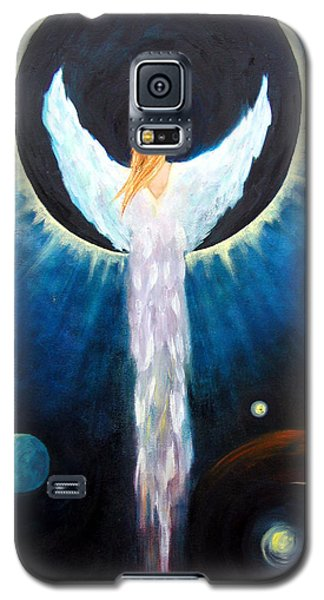 Angel Of The Eclipse Galaxy S5 Case by Marina Petro