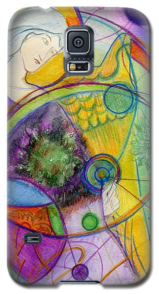 Angel Of The Wheels Of Time Galaxy S5 Case