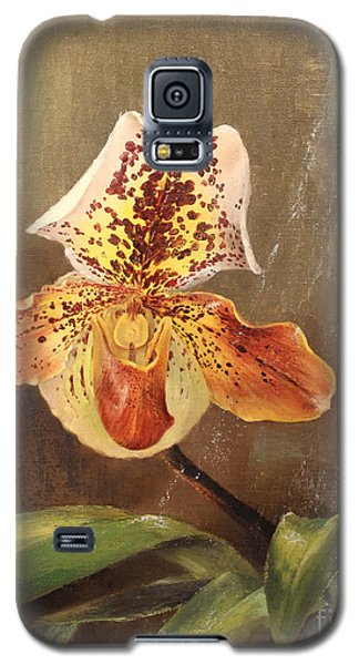 Angel Orchid Galaxy S5 Case