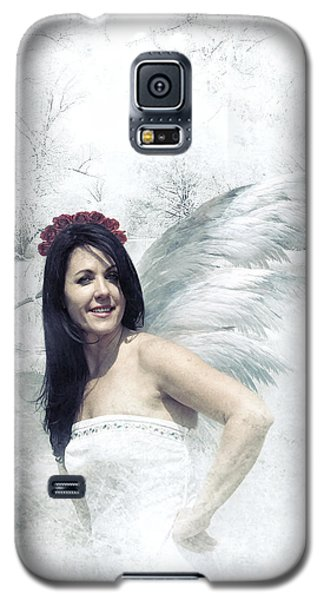 Galaxy S5 Case featuring the digital art Angel  by Riana Van Staden