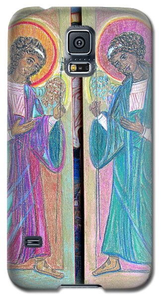 Angel Triptich Galaxy S5 Case