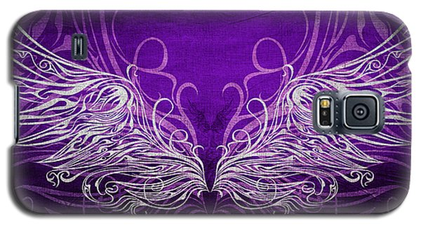 Angel Wings Royal Galaxy S5 Case by Angelina Vick