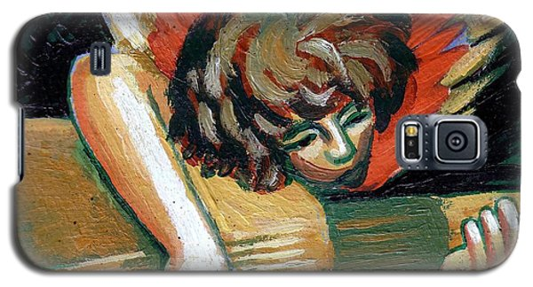 Angel With Lute Galaxy S5 Case