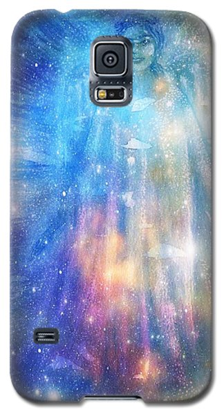 Angelic Being Galaxy S5 Case by Leanne Seymour