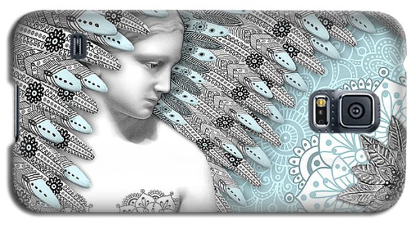 Angelica Hiberna - Angel Of Winter Galaxy S5 Case