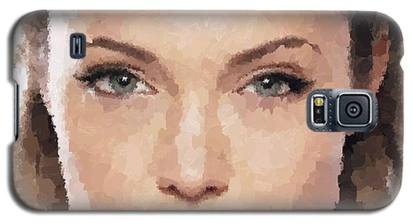 Angelina Jolie Portrait Galaxy S5 Case