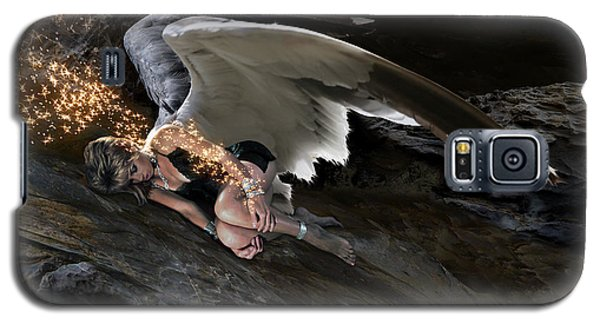 Angels- Call On The Name Of Jesus And Stand Still Galaxy S5 Case