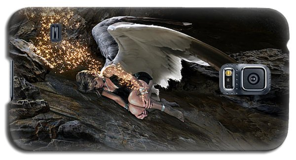 Angels- He Will Bring Peace To Your Heart Galaxy S5 Case