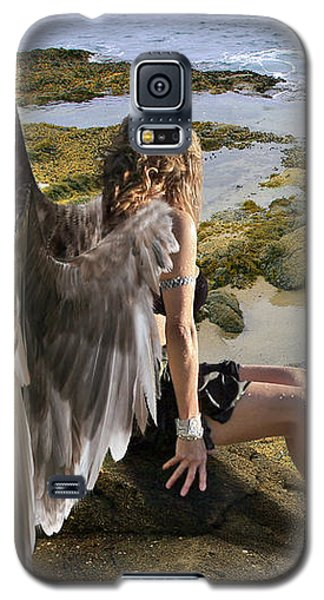 Angels- His Spirit Will Comfort You Galaxy S5 Case