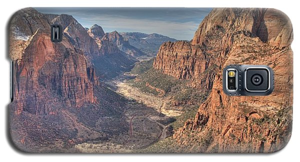Galaxy S5 Case featuring the photograph Angel's View by Jeff Cook