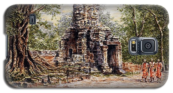 Angkor Temple Gate Galaxy S5 Case by Joey Agbayani