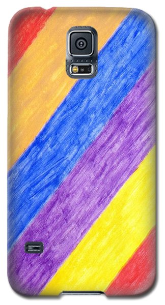 Galaxy S5 Case featuring the painting Angles by Stormm Bradshaw