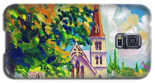 Anglican White Church In Summer Galaxy S5 Case