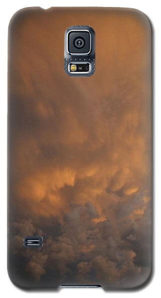 Galaxy S5 Case featuring the photograph Angry Clouds  by Lyle Crump