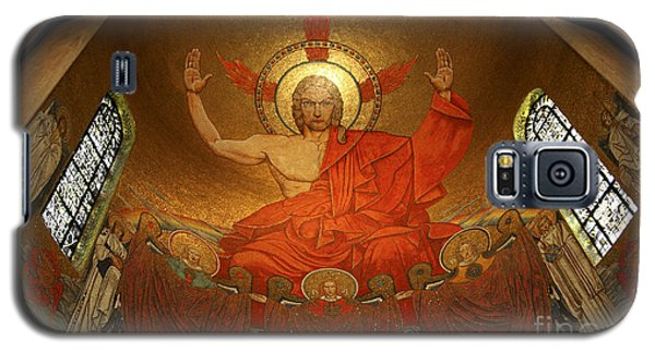Angry God Mosaic At The Shrine Of The Immaculate Conception In Washington Dc Galaxy S5 Case