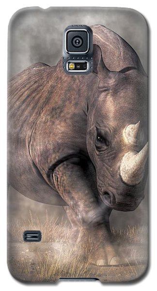Angry Rhino Galaxy S5 Case