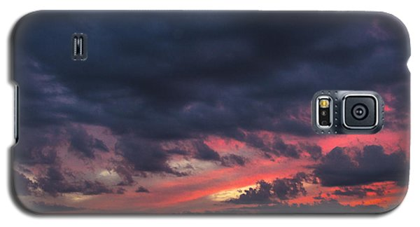 Angry Sunset Galaxy S5 Case