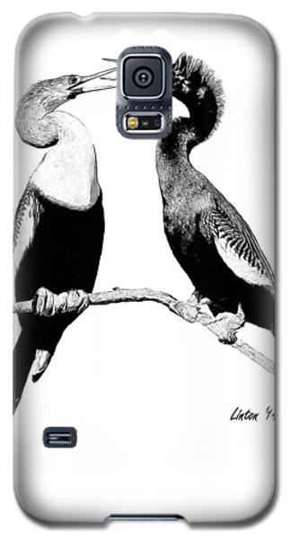 Anhinga Pair Galaxy S5 Case