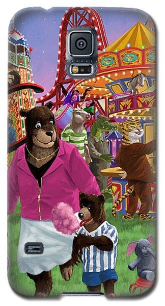 Animal Fun Fair Galaxy S5 Case