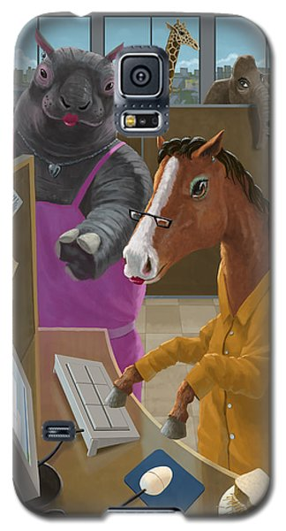 Animal Office Galaxy S5 Case