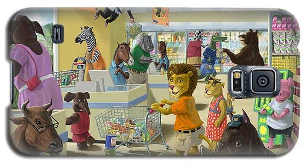 Animal Supermarket Galaxy S5 Case