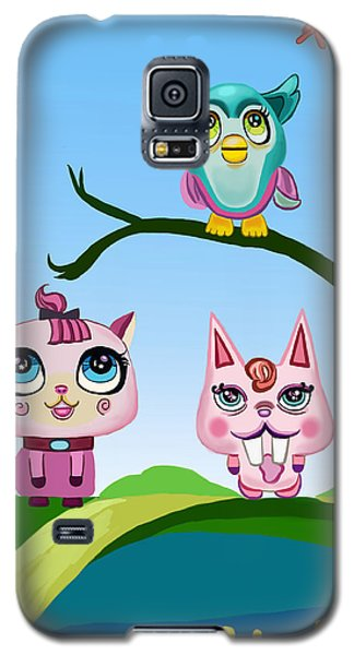 Animals Galaxy S5 Case by Bogdan Floridana Oana
