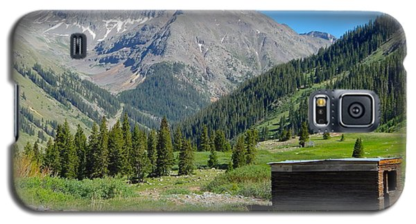 Animas Forks Jail Galaxy S5 Case by Dan Miller
