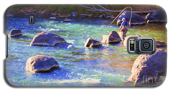 Animas River Fly Fishing Galaxy S5 Case