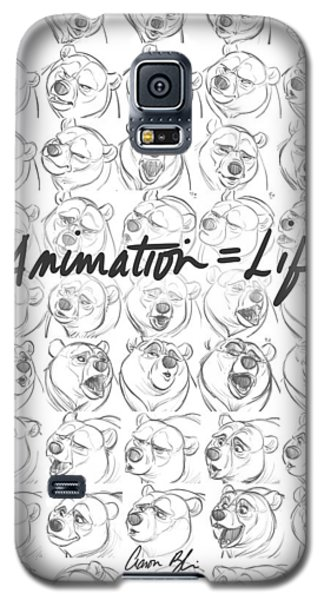 Galaxy S5 Case featuring the digital art Animation  Life by Aaron Blaise