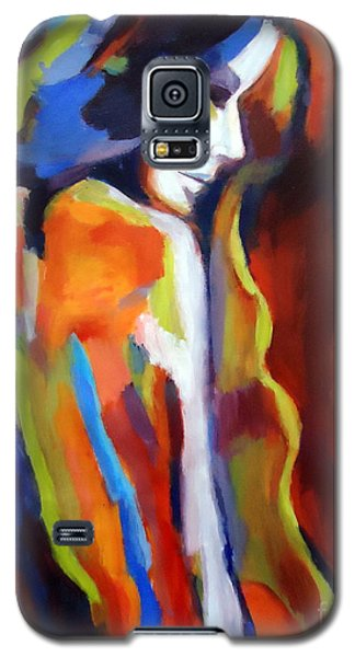 Galaxy S5 Case featuring the painting Animus by Helena Wierzbicki