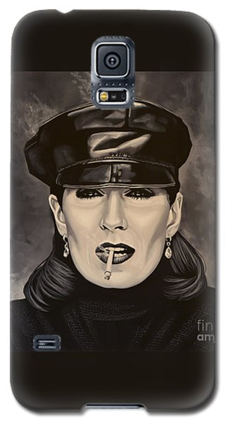 Anjelica Huston Galaxy S5 Case by Paul Meijering