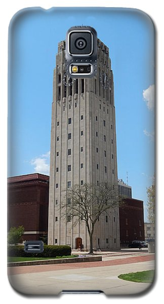 Ann Arbor Michigan Clock Tower Galaxy S5 Case by Phil Perkins