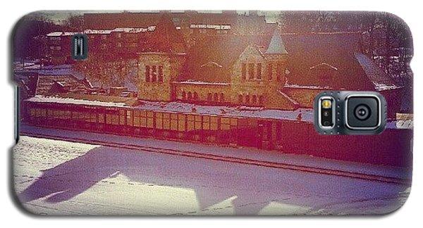 Ann Arbor Train Station Galaxy S5 Case by Jill Tuinier