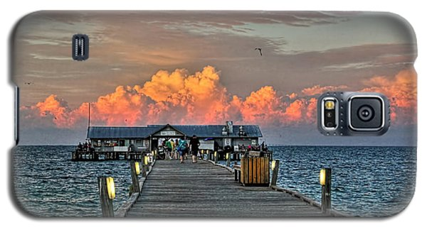 Anna Maria City Pier Galaxy S5 Case by HH Photography of Florida