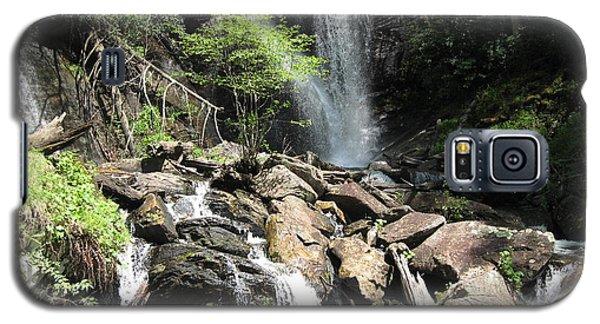 Galaxy S5 Case featuring the digital art Anna Ruby Falls Helen Ga 03 by Brian Johnson