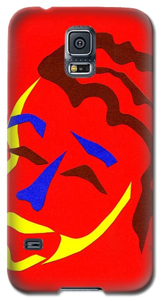 Galaxy S5 Case featuring the digital art Annalyn by Delin Colon