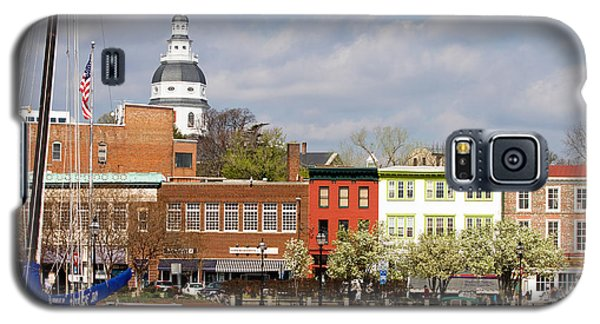 Annapolis Downtown Harbor Galaxy S5 Case
